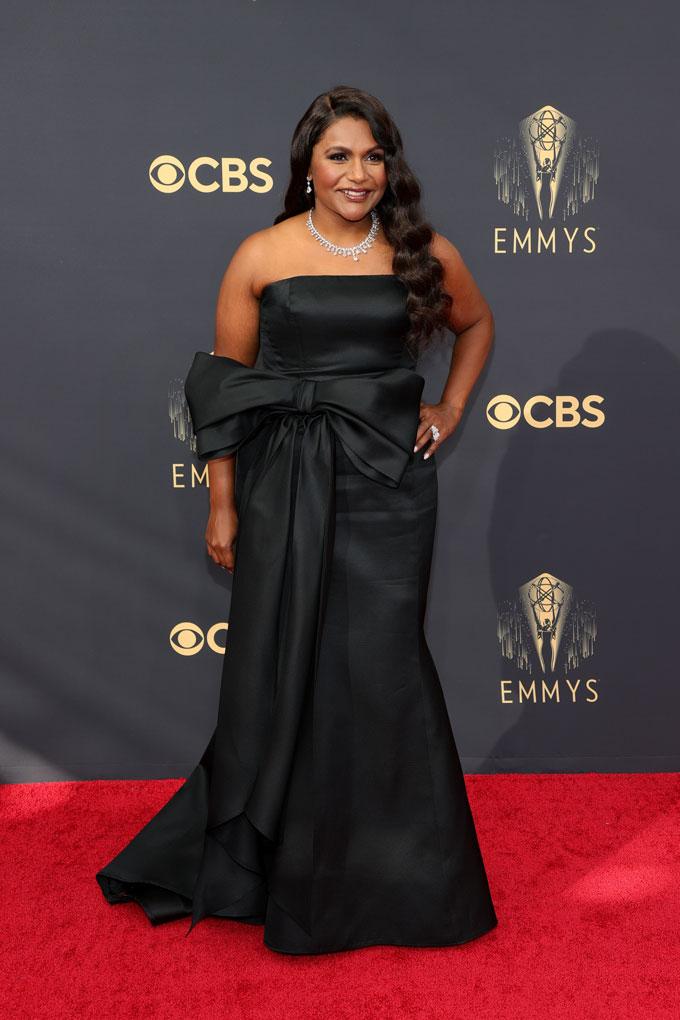 Emmy Awards jewellery Mindy Kaling