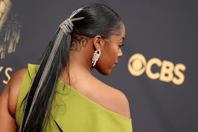 Emmy Awards jewellery Moses Ingram