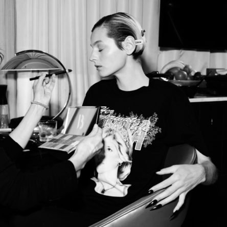 Vogue Singapore 2021 - Emmy Awards Emma Corrin beauty hair makeup nails