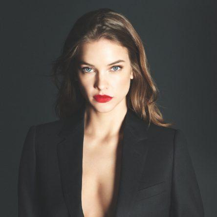 Vogue Singapore 2021 - armani beauty power fabric foundation - barbara palvin