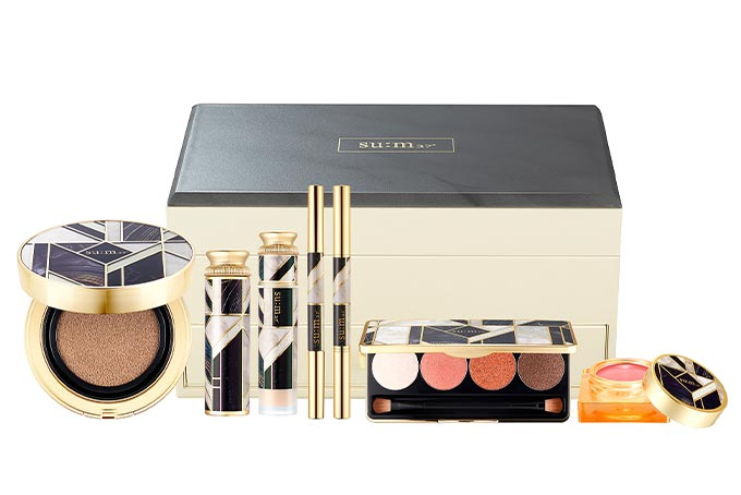 Sum37 Losec Summa Luxury Makeup Box complete with cushion, blush and more