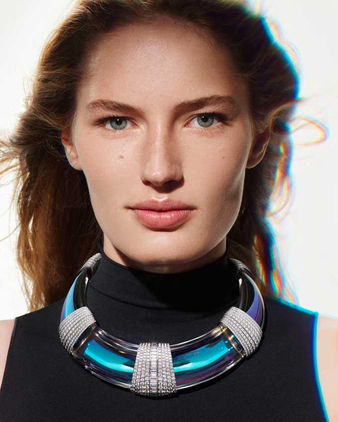 Boucheron Claire Choisne Halo necklace