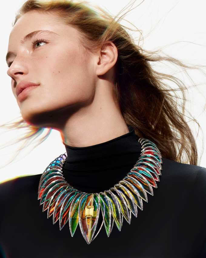 Boucheron Claire Choisne Holographic necklace 1