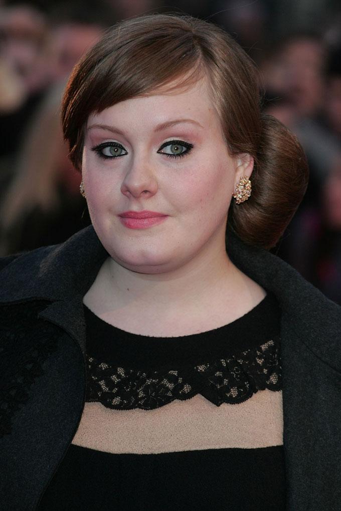 Adele best earrings 2008 Brits