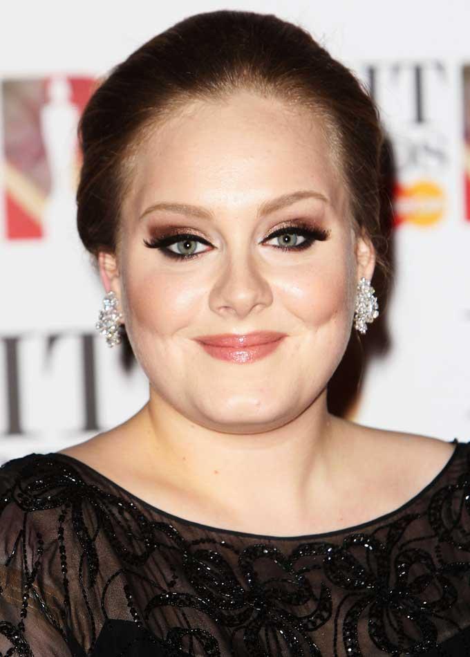 Adele best earrings 2011 Brits