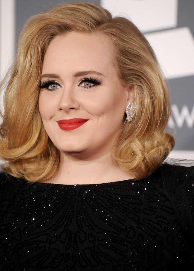 Adele best earrings 2012 Grammys 1