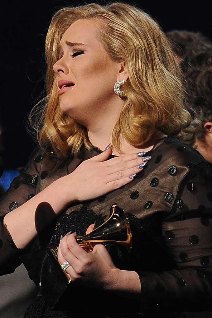 Adele best earrings 2012 Grammys