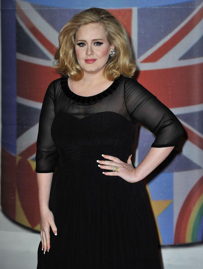 Adele best earrings 2012 Brits