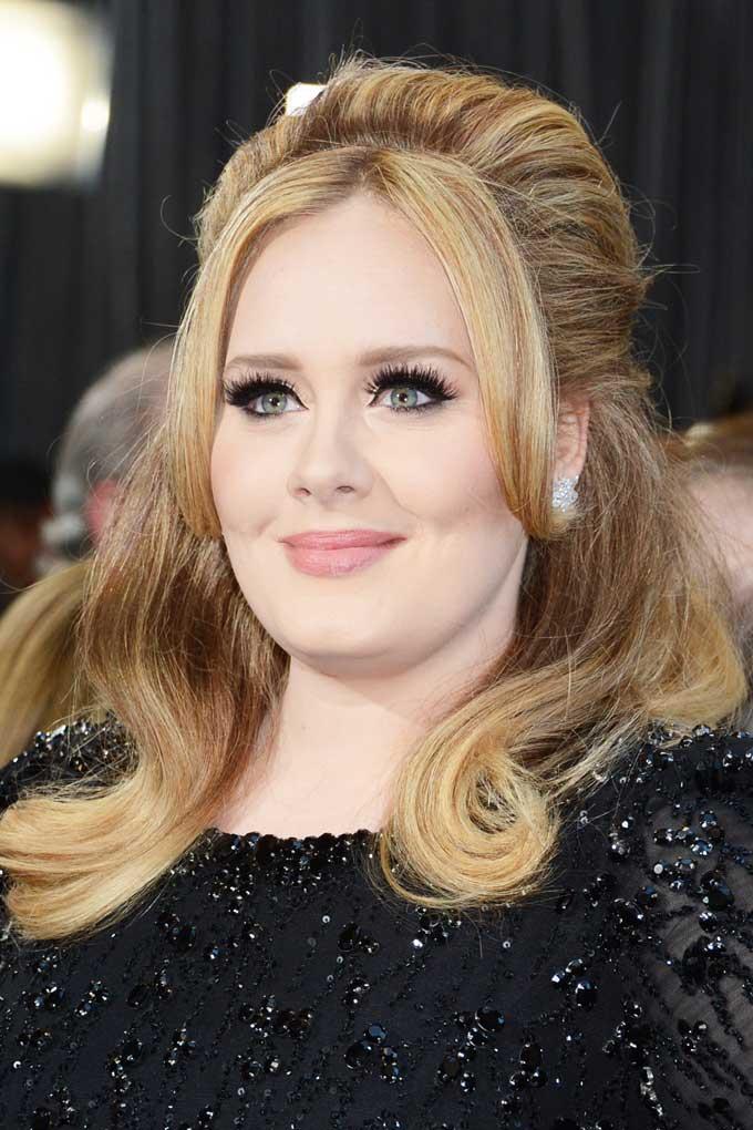 Adele best earrings 2013 Oscars Look 1