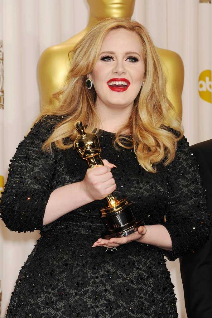 Adele best earrings 2013 Oscars