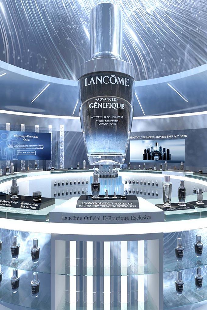 Lancome Singapore's online flagship boutique