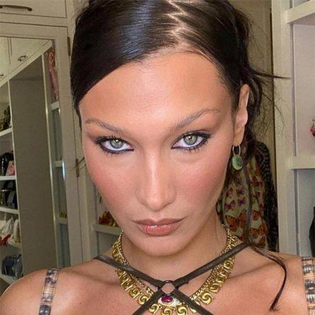 Bella Hadid Y2K hair trends